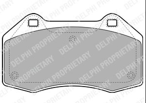 BRAKE PADS FRONT RENAULT SCENIC MK3 2002 2003 2004 2005 2006 2007 2008 2009 1.9 DCI 2.0 DCI DIESE & 2.0i T PETROL BREMBO TYPE (1274)