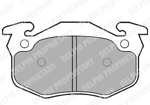 BRAKE PADS REAR RENAULT CLIO MK2 1998 1999 2000 2001 2002 2003 2004 2005 BENDIX TYPE 2.0 SPORT (745)
