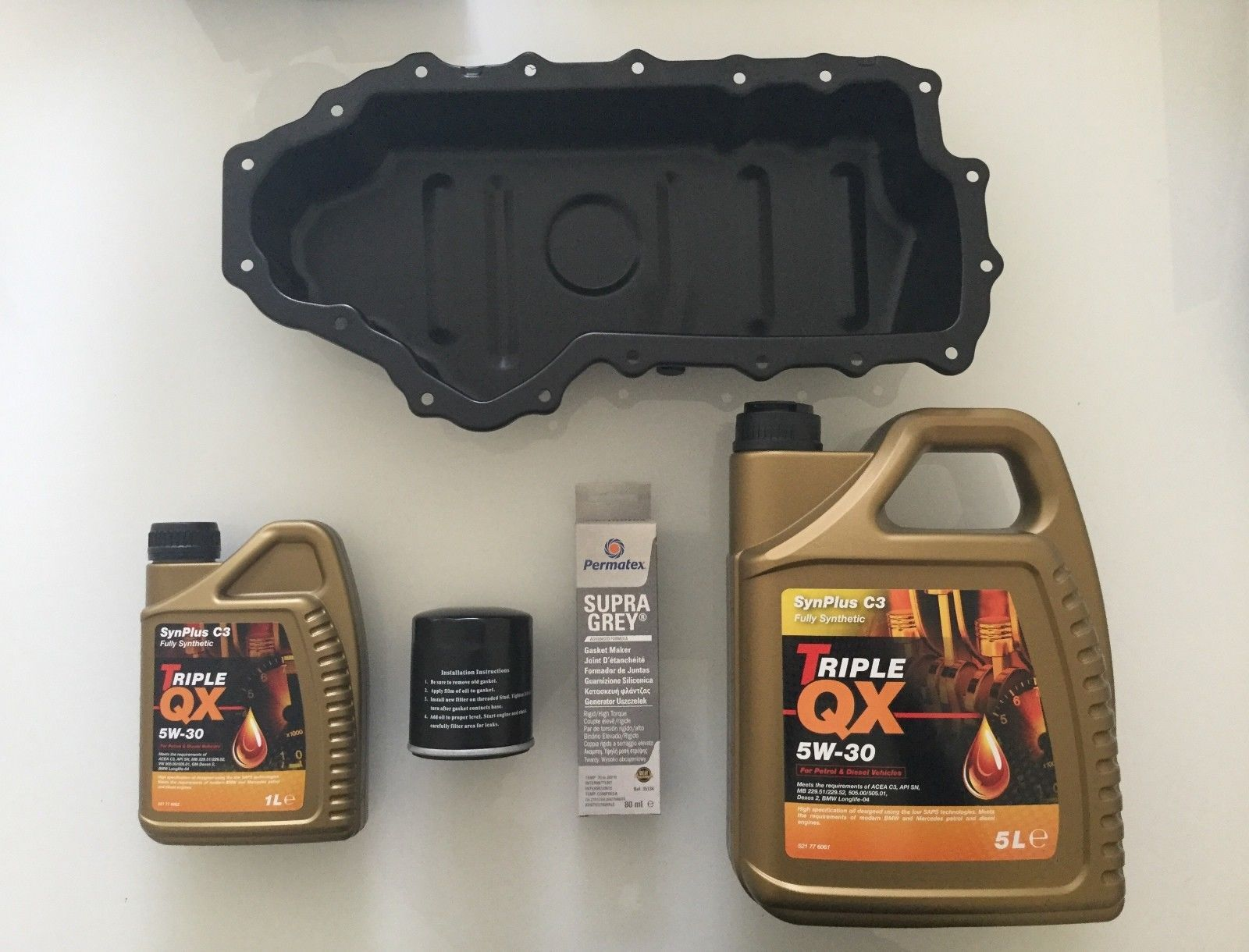 Transit Parts Brand New Oil Sump Pan Transit Connect 1.8 Diesel With Plug And Gasket